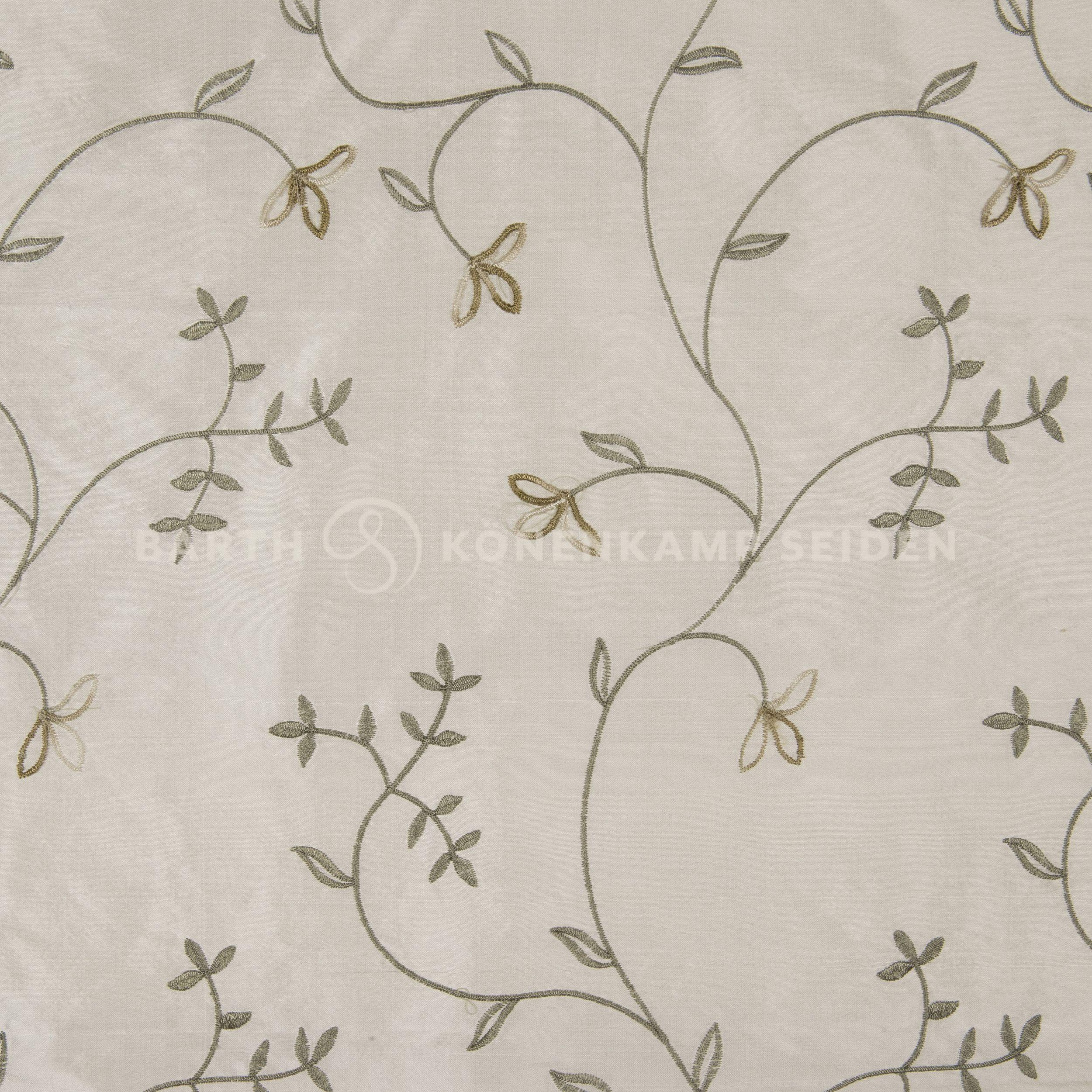3065M-81 / Doupion silk with ornate embroidery