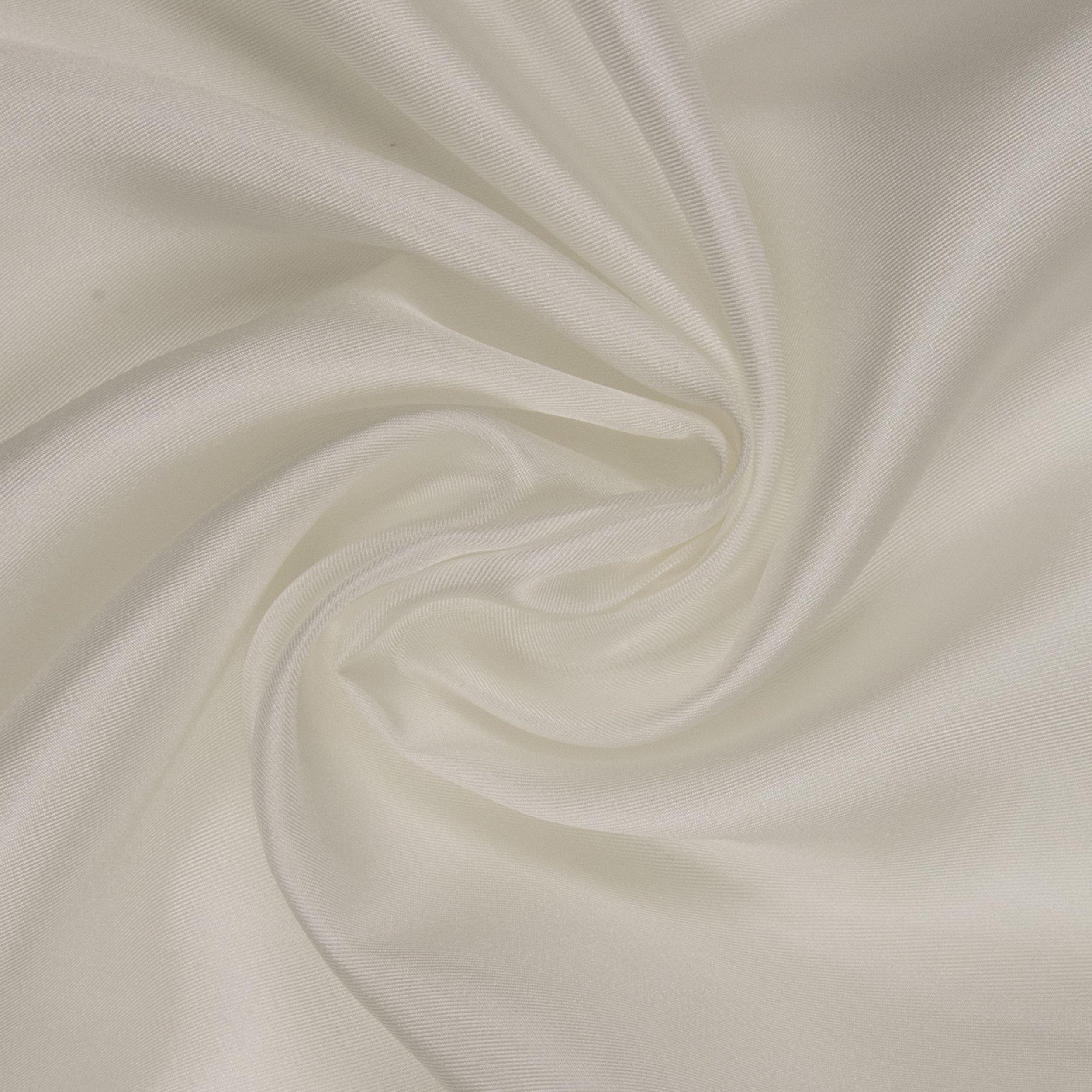 3143 / Chinesischer Reinseiden Twill rohweiß