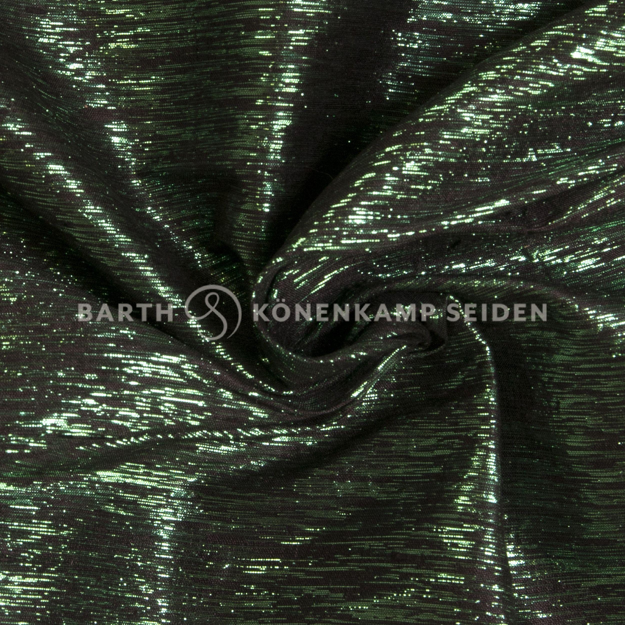 997-gruen / Doupionseide mit Effektgarn