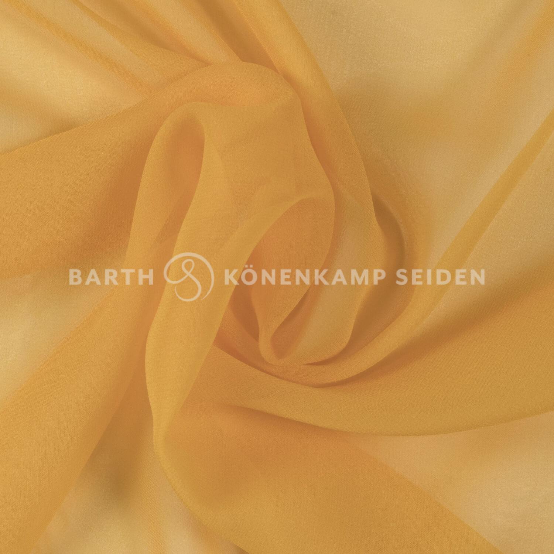 3001-10 / China Reinseiden Georgette gefärbt