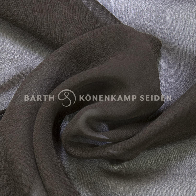 3001-12 / China Reinseiden Georgette gefärbt