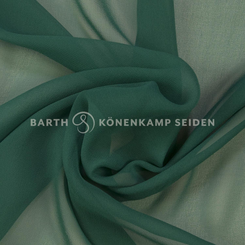 3001-14 / China Reinseiden Georgette gefärbt