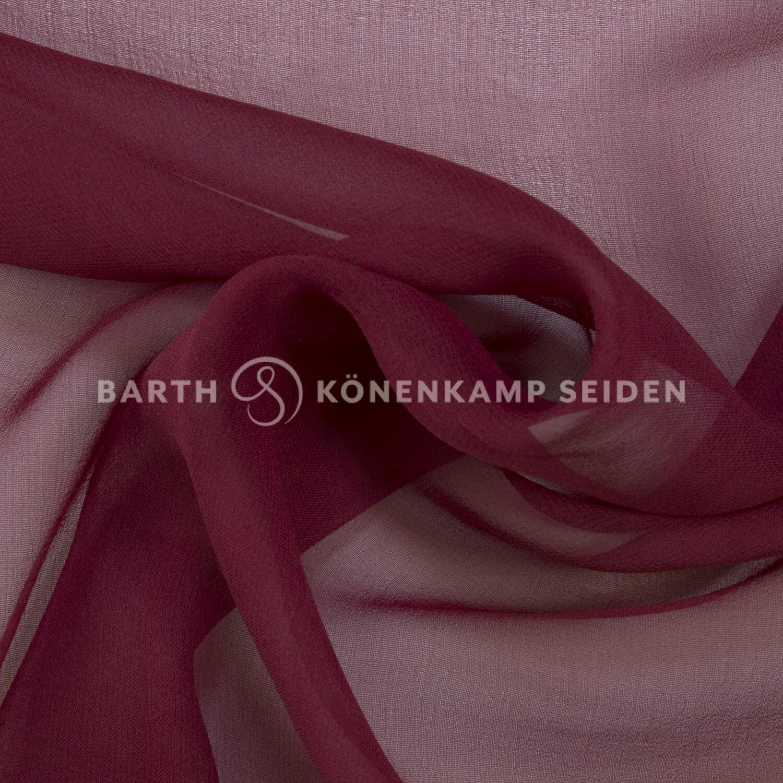 3001-4 / China Reinseiden Georgette gefärbt
