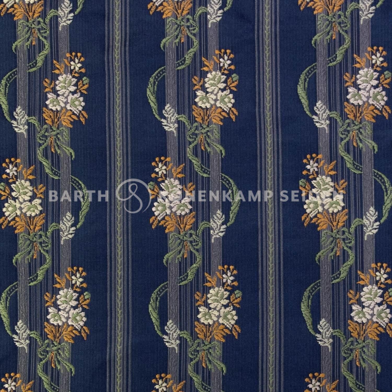 3806-2 / Deco-Silk Floral Stripe
