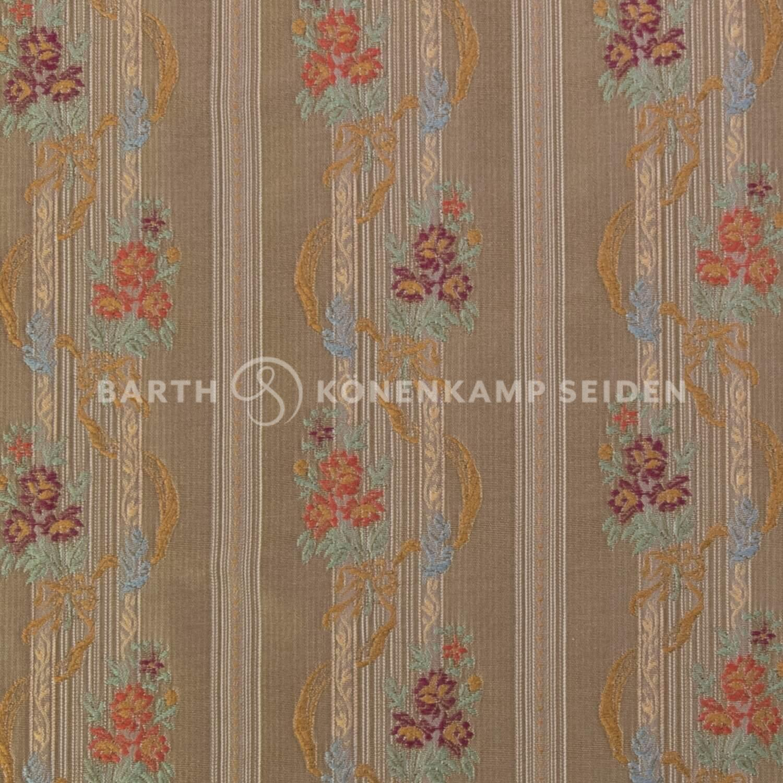 3806-3 / Deco-Silk Floral Stripe