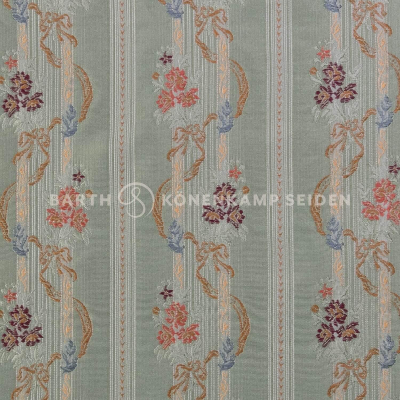 3806-5 / Deco-Silk Floral Stripe