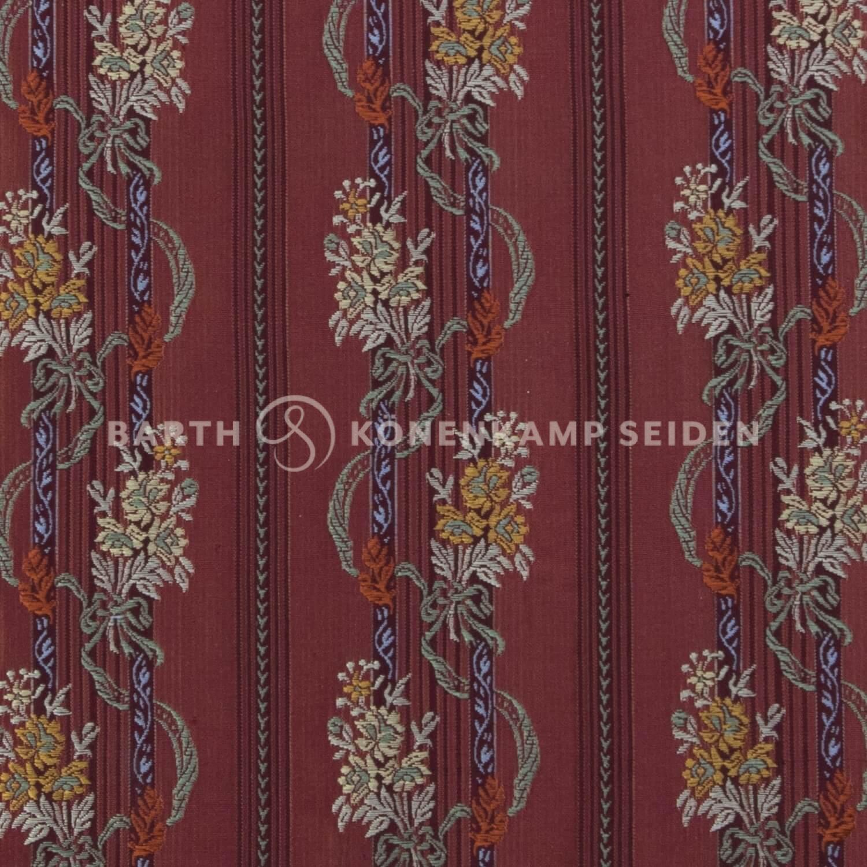 3806-6 / Deco-Silk Floral Stripe